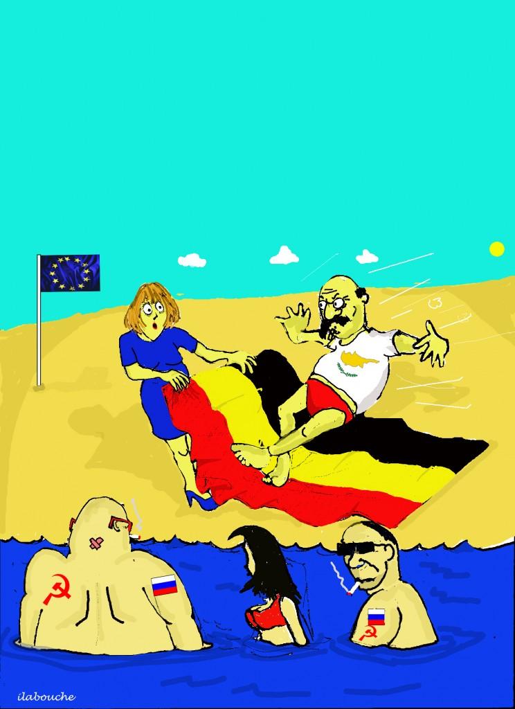 Oh No Auntie Merkel...